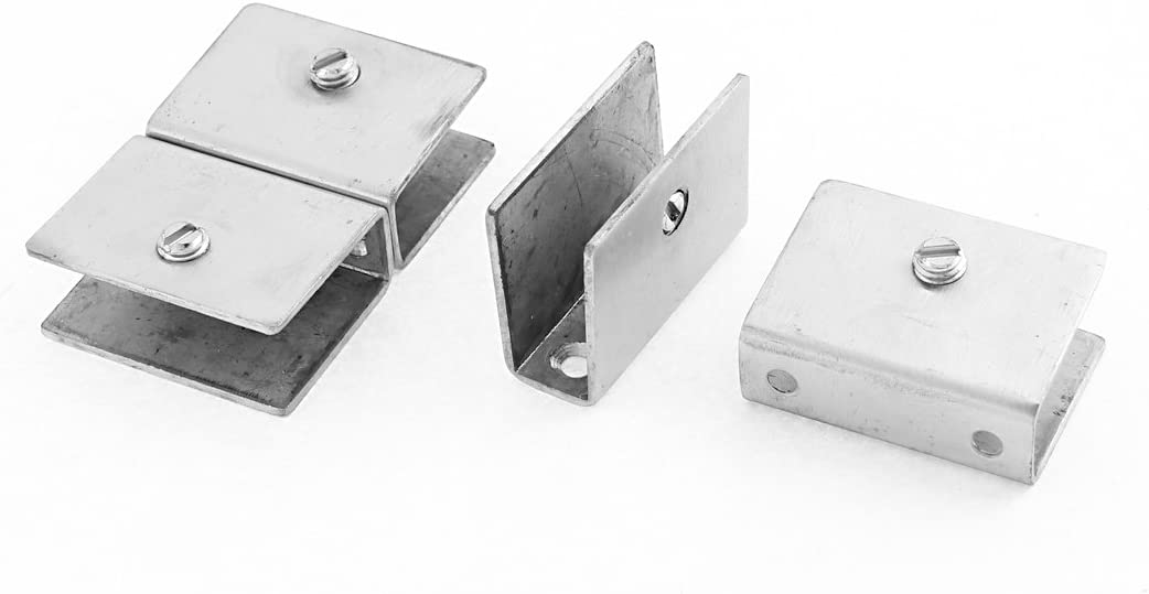 Aexit 4 Pcs Houston Mall Clamps 10mm-14mm Ranking TOP11 Square Shelf Thickness G Adjustable