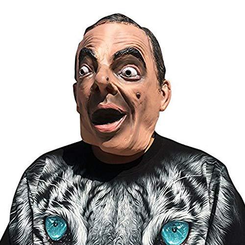 thematys Mister Bean Mr. Rowan Atkinson Maske - perfekt für Fasching, Karneval & Halloween - Kostüm für Erwachsene - Latex, Unisex Einheitsgröße
