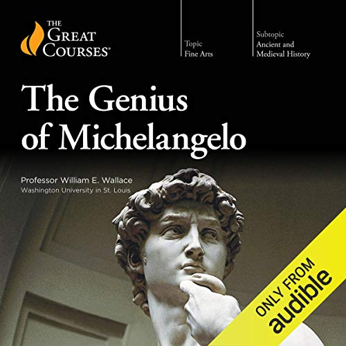 Genius of Michelangelo audiobook cover art