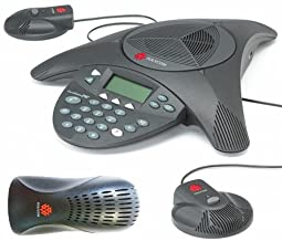 Polycom SoundStation 2 EX with 2 Mics Included (2200-16200-001)+(2200-16155-001) (Renewed) photo