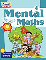 Frank EMU Books Mental Maths for Class 4 Practice Workbook with Fun Activities Based on NCERT Guidelines (Age 8 Years and Above)