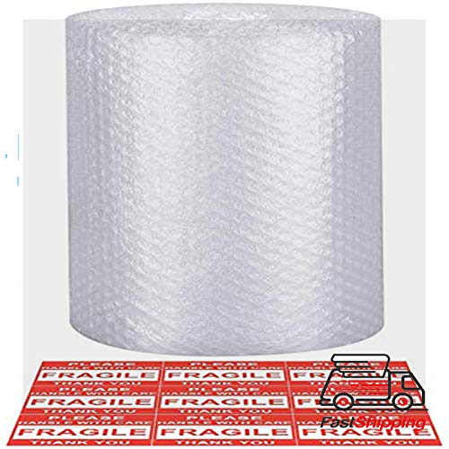 Bible Wrap - Bubble Cushioning Wrap - Bubble Cushioning Wrap for Moving with Perforated Every 12��, Easy to Tear, Small Bubble, Thicker & Durable for Packing, Delivering & Moving 12�� x36 Feet