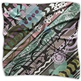 Osmykqe Sciarpa Pop Art Background Womens Small Square Mixed Hair