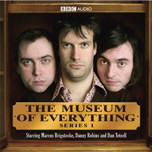 The Museum of Everything audiobook cover art