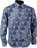 KoleGoe Halloween Joker Costume Hexagon Shirt Vest Tie (Medium, Only Shirt)