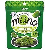 販路限定品 カルビー miino そら豆しお味 28g 24袋