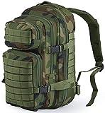 Nitehawk - Sac à dos multifonction avec système d'attache MOLLE - style militaire - 30 L -...