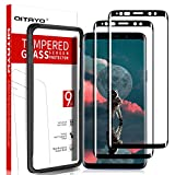[2 Pack] QITAYO Screen Protector for Samsung Galaxy S9, HD-Clear [Bubble-Free][Case Friendly] [Alignment Frame] Tempered Glass Screen Protector Compatible with Samsung Galaxy s9