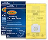 EnviroCare Replacement Vacuum Bags for Kenmore Canister Type C or Q 50555, 50558, 50557 and Panasonic Type C-5 12 pack