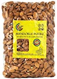 Mandorle Siciliane Sgusciate (1Kg) | Naturali | Senza Glutine | Ideali per Dolci e Keto