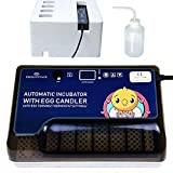 Egg Incubator with Automatic Egg Turning Turner for Chicken Ducks Goose Quail Eggs,Built-in