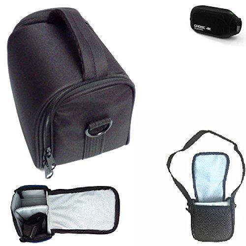 Para Drift Ghost 4K: Bolso De Hombro / Bolsa De Transporte Cámara Funda Protectora De Viaje Estuche Para Accesorios Protección Contra La Lluvia, Antichoque Negro Dimensiones: 13cm (5.1