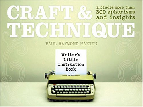 Download Craft & Technique (WRITER'S LITTLE INSTRUCTION BOOK) 1582973415