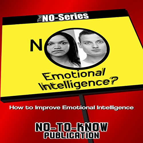 NO Emotional Intelligence? cover art