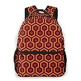 Shichangwei Mochila Escolar Hexagonal Geometric Figure Durable Kids Back To School Backpack Polyeste...