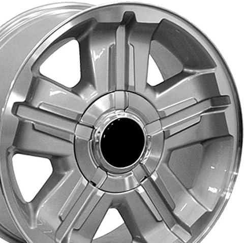 OE Wheels New sales Raleigh Mall LLC 18 inch Rim Z71 Silverado CV88 Fits Wheel Chevy