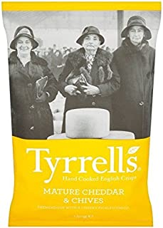 Tyrrell's Mature Cheddar & Chives Chips 150g