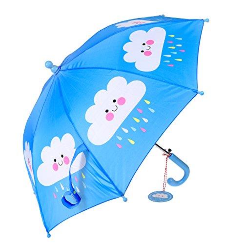 dotcomgiftshop Regenschirm 28071 für Kinder Happy Cloud