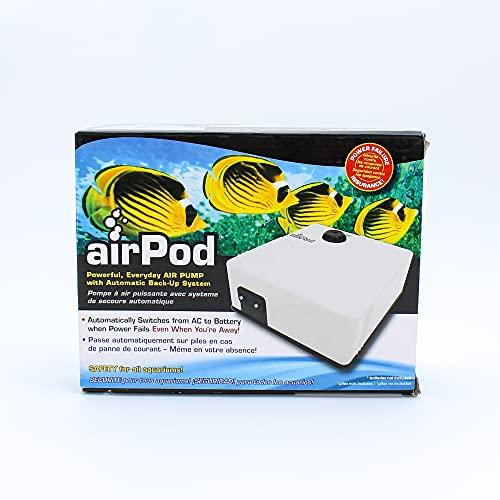 Penn Plax PEN-019 Air Pod Aquarium Air Pump For...