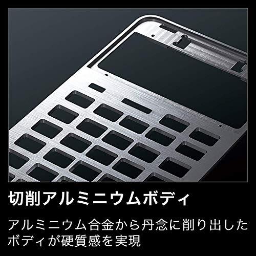 『カシオ CASIO プレミアム電卓 12桁 ブラック S100』の5枚目の画像