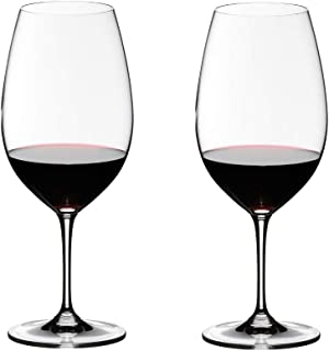 Riedel VINUM Syrah Glass, Set of 2, Clear