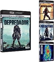 Pack Depredador - Incluye: Depredador + Depredador 2 + Predators + Predator 4k UHD [Blu-ray]