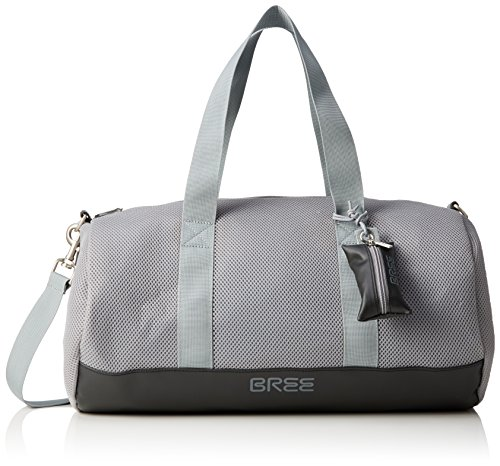 BREE Damen PNCH AIR 2 Gym Bag Bowlingtaschen, Mehrfarbig (Titan./Black 596), 30x12x7 cm