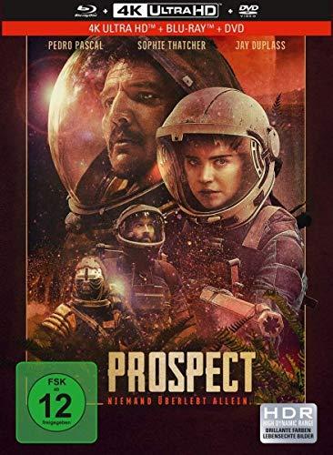 Prospect - 3-Disc Limited Collector's Edition im Mediabook (4K Ultra HD/UHD) (+ Blu-ray) (+ DVD)
