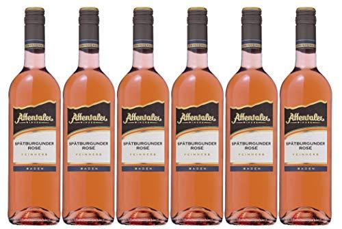 Affentaler Winzer Winzer-Edition Spätburgunder Rosé QW feinherb (6 x 0,75L)
