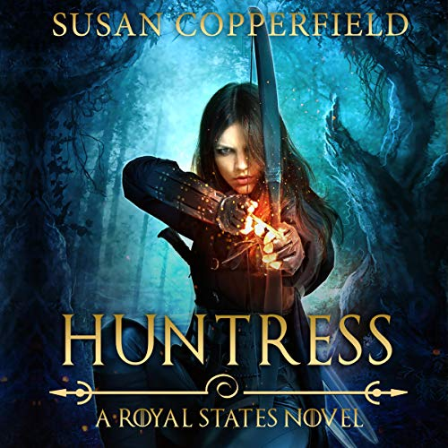 Huntress audiobook cover art