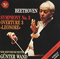 Beethoven: Symphony No. 3 'Eroica' by Gunter Wand (2012-02-07)