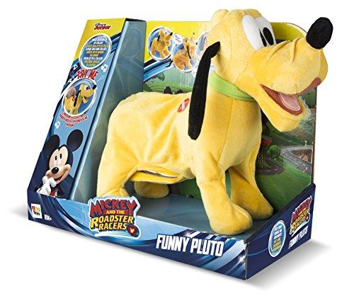 IMC Toys - Pluto Joyeux, peluche interactive sonore - 181144 - Disney