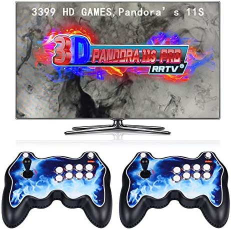 Holana 3399 Games in 1 Arcade Game Console 2 Players with Two Separate Joysticks 11S Full HD product image