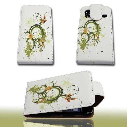 Handy Tasche Hülle Flip für Samsung Galaxy Ace GT-S5830 / GT-S5830i / Handytasche Schutzhülle JS M19