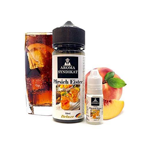 Aroma Syndikat - Pfirsich Eistee Longfill-Aromen - Bottle-in-Bottle - 10ml/120ml