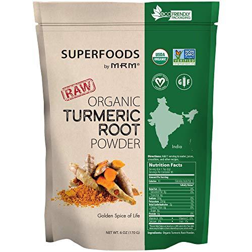 MRM Super Foods - Organic Turmeric Powder, 6 Ounce