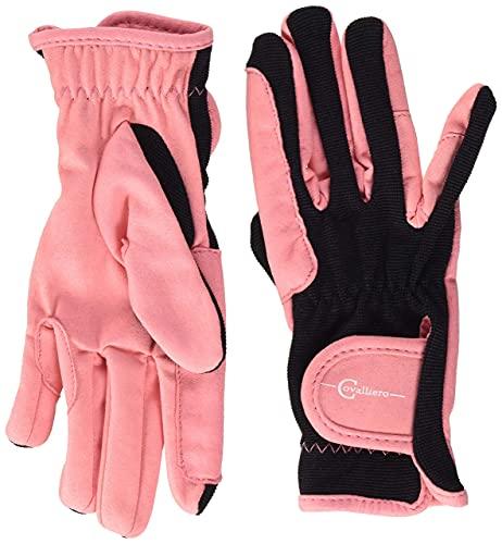 Covalliero Kinder Kinderreithandschuh Lilli Black/pink, Größe S Reithandschuh, S