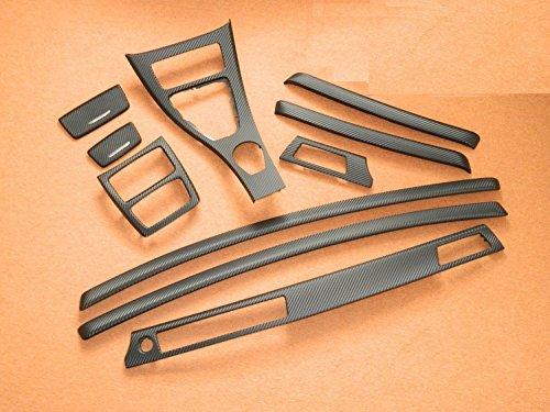 Dekorleisten Interieurleisten Carbon 3D Struktur Folien Set passend für BMW E92 Coupe E93 Cabrio