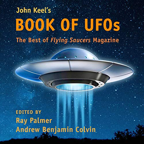 John Keel's Book of UFOs: The Best of Flying Saucers Magazine cover art