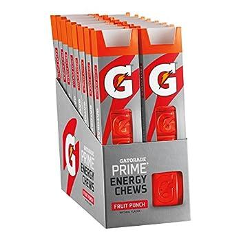 Gatorade Prime Energy Chews Fruit Punch  Pack of 16