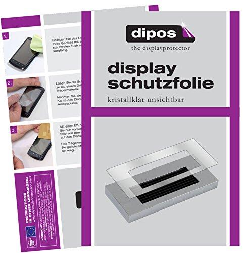 dipos I 2X Schutzfolie klar kompatibel mit Jura A-Serie A1 A5 A7 A9 Tropfblech Folie Displayschutzfolie