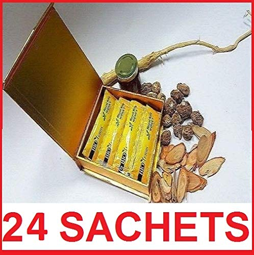 Pack of 1 Super Honey for HIM 24 SACHETS - Sexual Enhancement (Sachets Color May Vary)