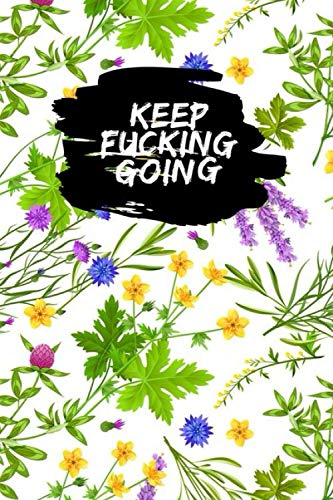 Keep Fucking Going: hipster rabbits french greeting bunjour hand drawing hipster design compostion Food & Fitness Journal, Funny Swearing Meal Planner + Exercise Journal for Weight Loss & Diet Plans