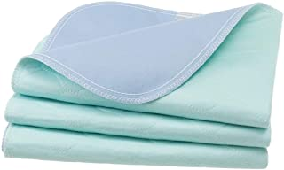 3 Pack Washable Underpads for Bed - Ultra Soft Incontinence Bed Pee Pads Waterproof Mattress Pad Cover for Baby and Adults,18