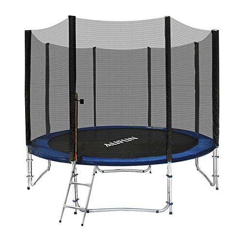 SAILUN 8FT/10FT/12FT Trampolines For Kids Outdoor Children With Safety Net, PP Jumping Mat, Spring...