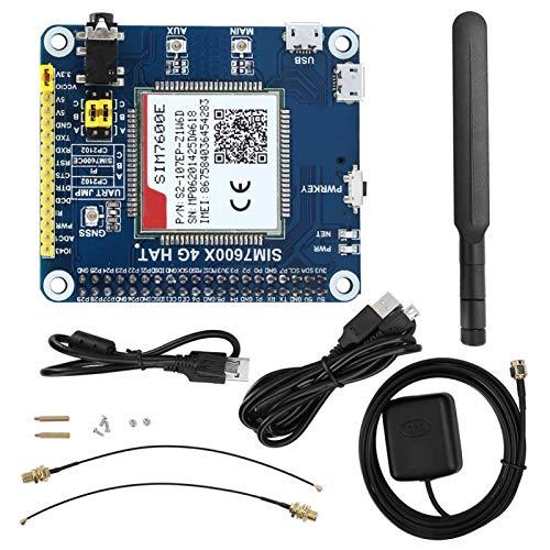 Uxsiya Module SIM7600E, Module de Communication de Carte, Module de Transmission de données, Carte de Module Professionnel avec câble de Connexion pour téléphone pour d'autres opérations vocales