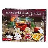 ROTH Tee-Adventskalender für Zwei gefüllt mit 2x24Teebeuteln, Teegenuss-Kalender für die...