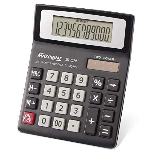 Calculadora de Mesa Maxprint MX C120