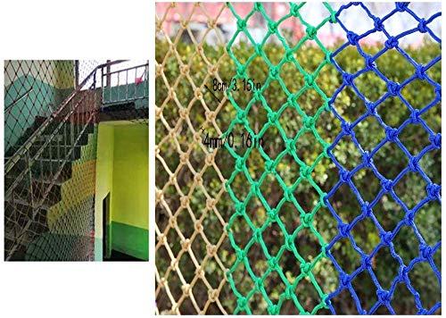 AI LI WEI Protective Net Decoratie/kinderen balkon heknet kinderen ladder bescherming net veiligheidsnet valbeveiliging kattennet decoratie net multifunctionele afdekking
