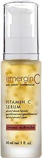 emerginC 12% Vitamin C Facial Serum - Extra Strength Micro-Encapsulated Spheres + Brightening Complex to Help Address Visi...